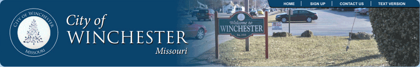 City of Winchester Missouri